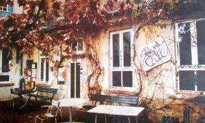 Das Café im letzten Jahrtausend ...
